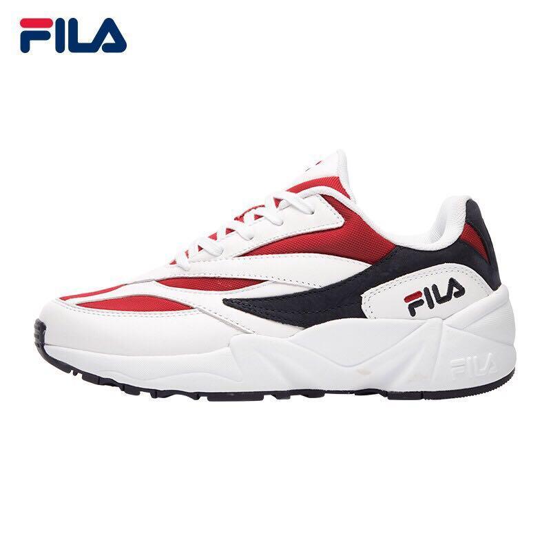 Fila Female Sports Shoes Red White