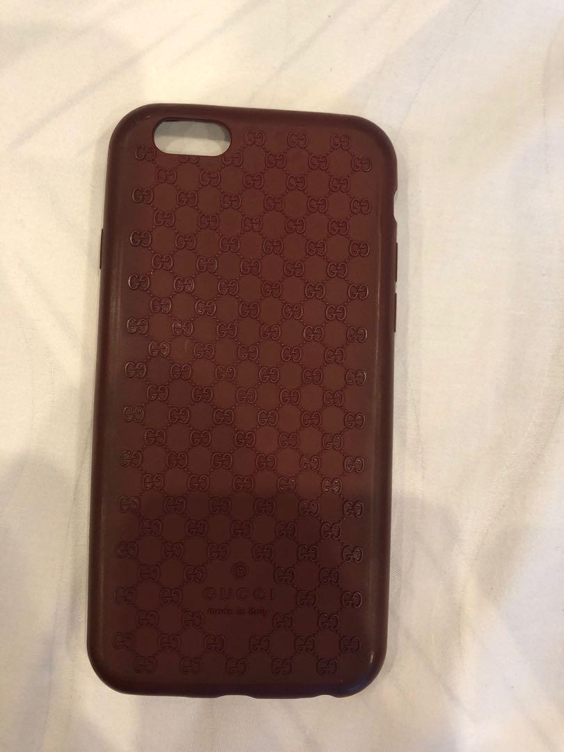 new concept c02bc f0c5f Gucci IPhone 6/6S Rubber Case