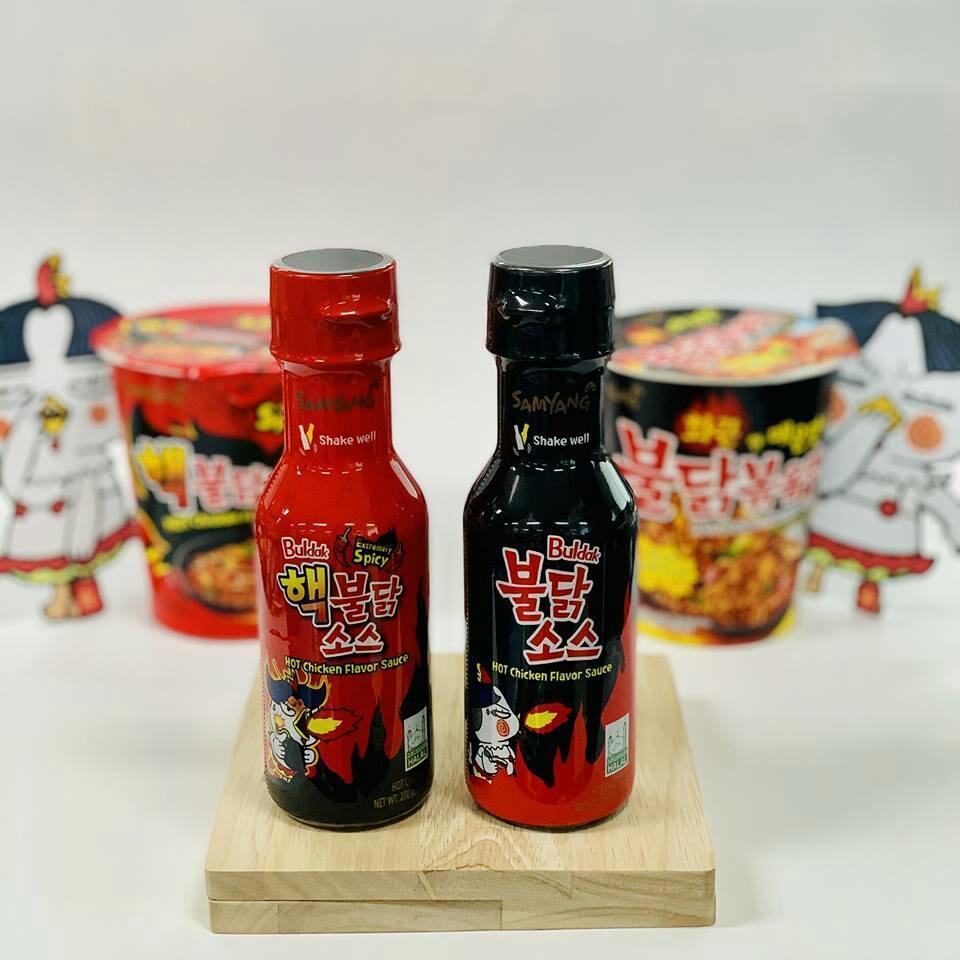 (Harga exclude postage) HALAL Samyang Sauce Original @ 2X Spicy 200g