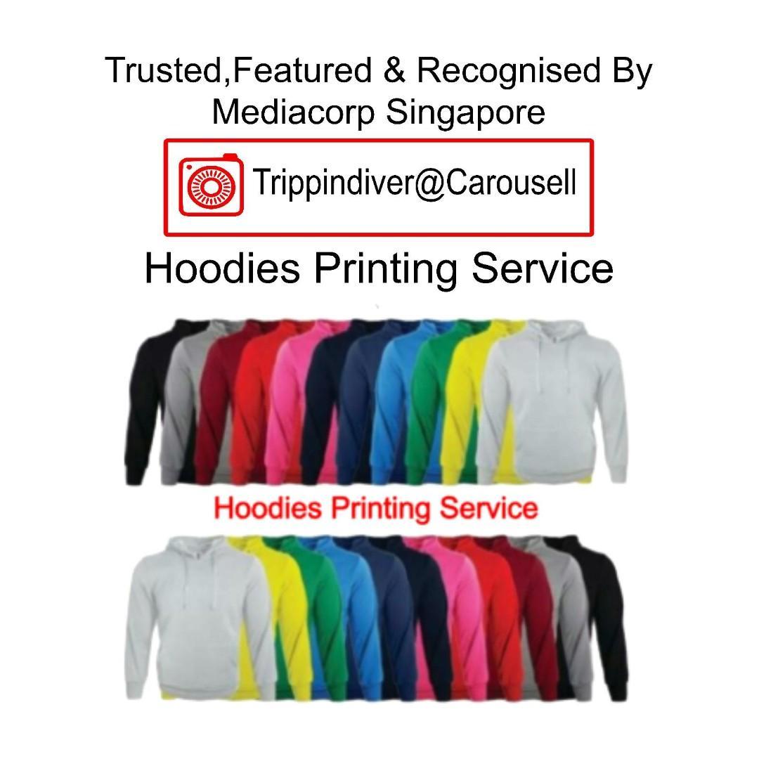 Hoodies Printing Service