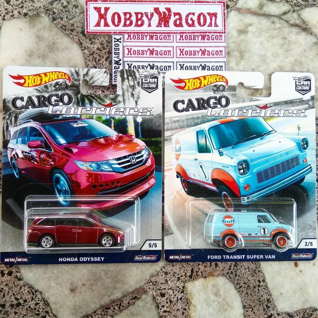 Hot wheels Cargo Carriers