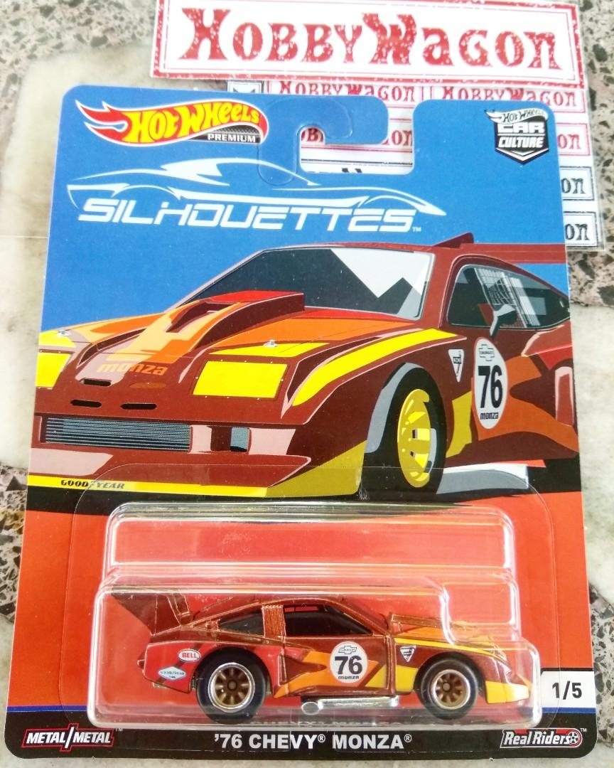 Hot wheels Silhouettes 76 Chevy Monza