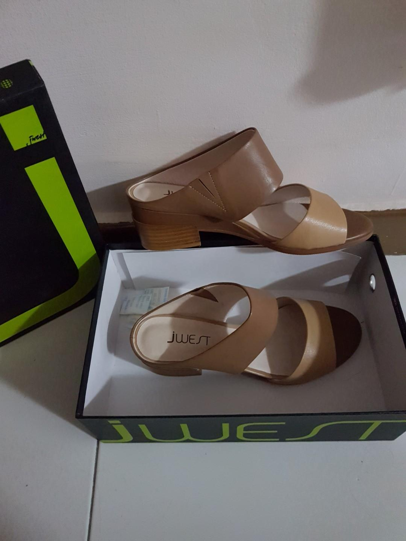 Jwest leather heels