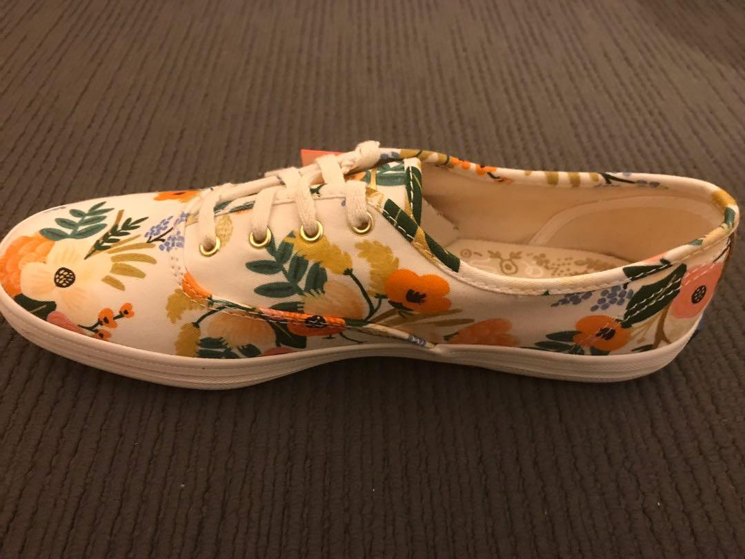 KEDS Rifle & Co. Lively Floral Print canvas sneaker 7.5