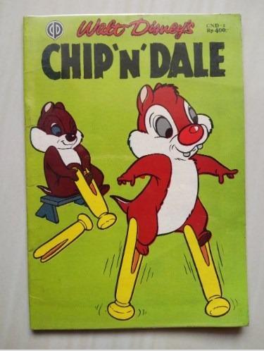 Komik Jadul Walt Disney - Chip N Dale - CND 2 BMD