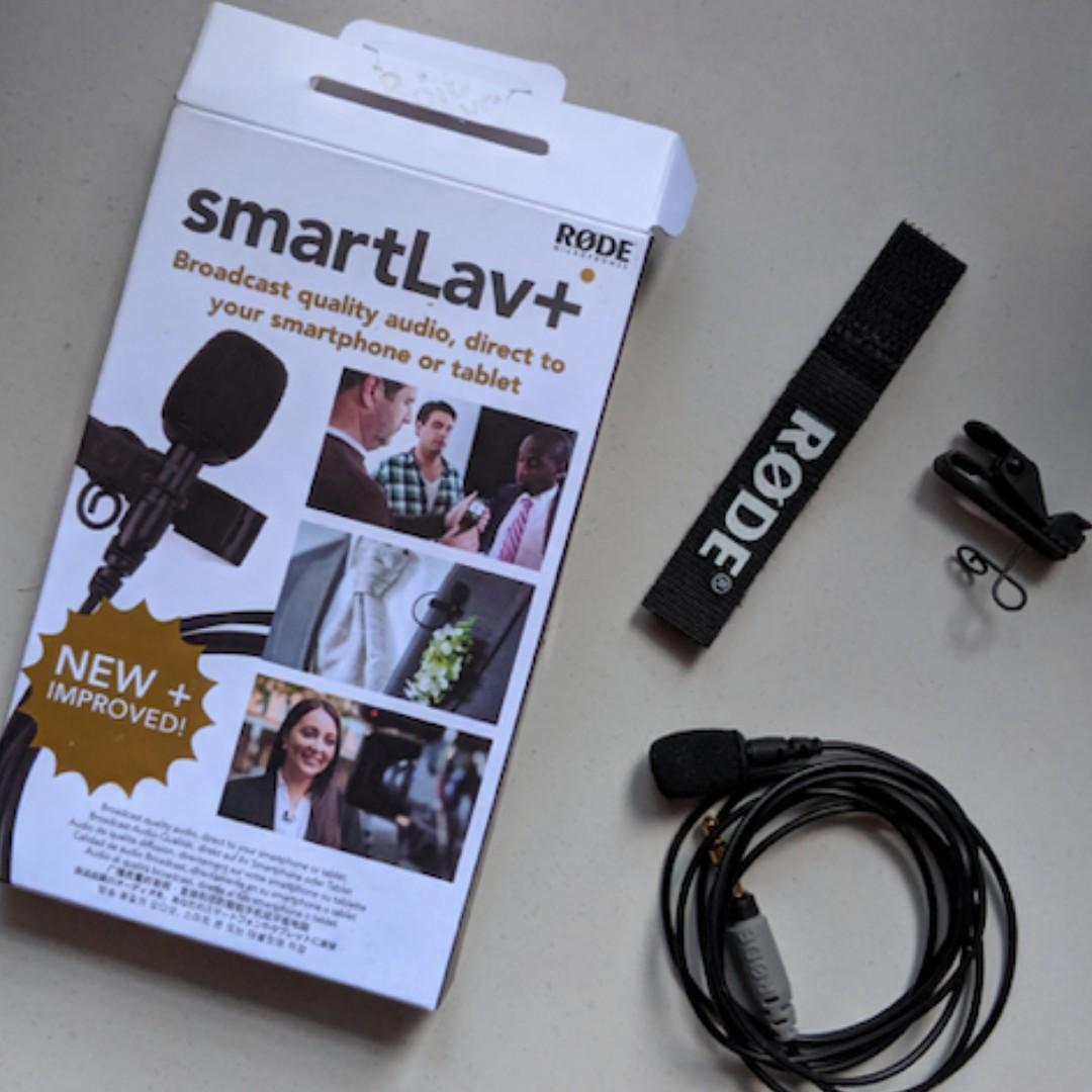 Microphone Rode smartLav+ untuk Handphone - Kondisi 100%
