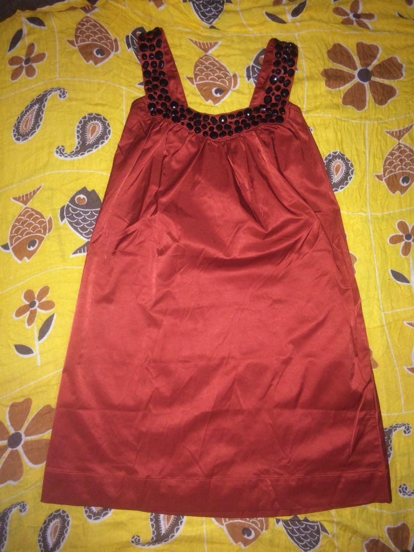 Minidress red S-M