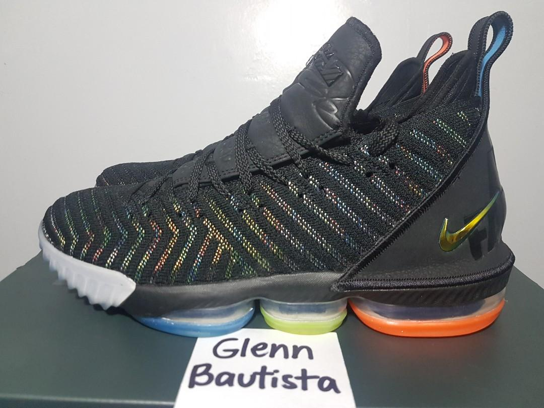 100% authentic f081a 5b2ed Nike LeBron 16