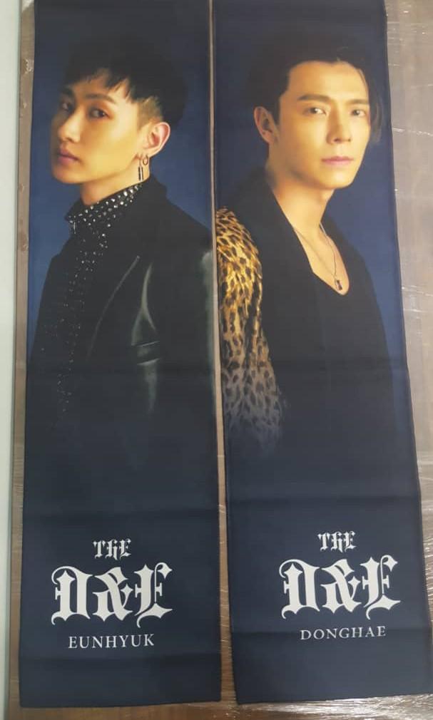 OFFICIAL Super Junior D&E 'The D&E' concert Slogan Towel