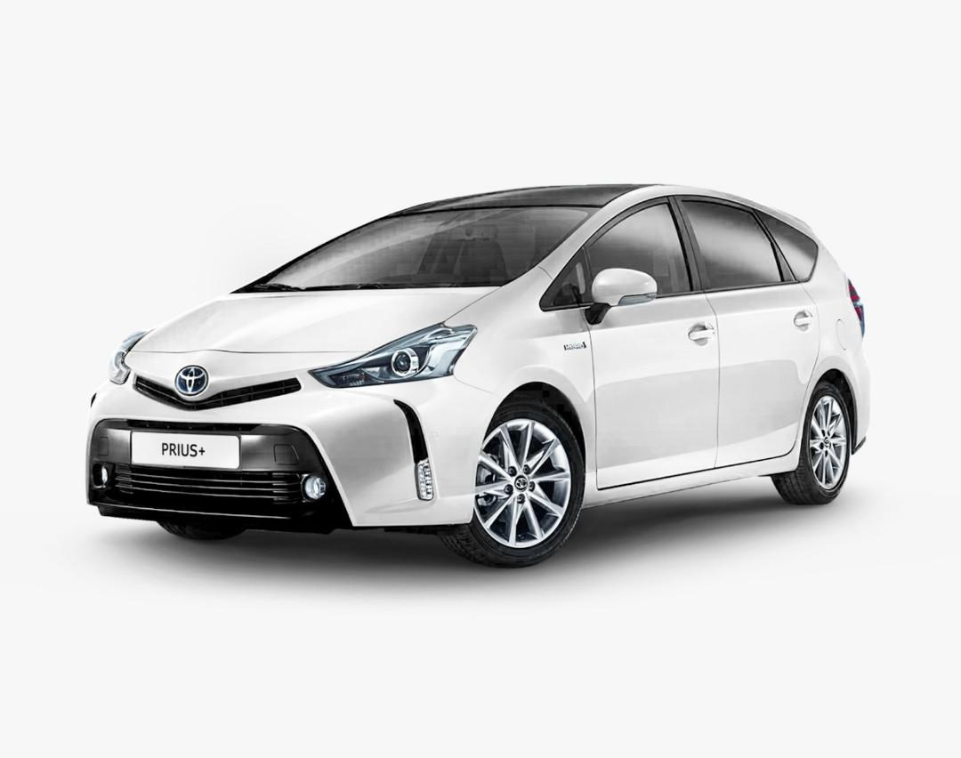 Brand New Toyota Prius Plus Hybrid 1.8L  - Private Hire / Grab Use