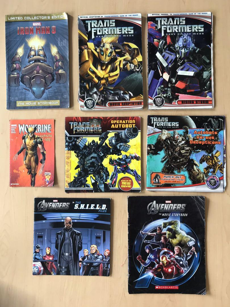 Picture Storybook / Comic: Transformers & Marvels