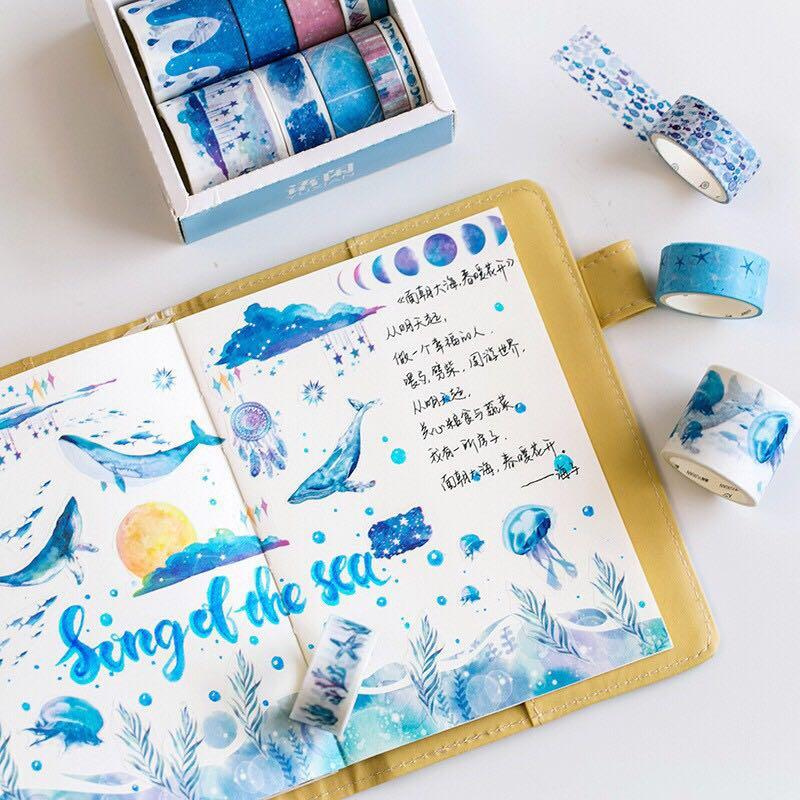 [PO] 10 Roll Washi Tape Set