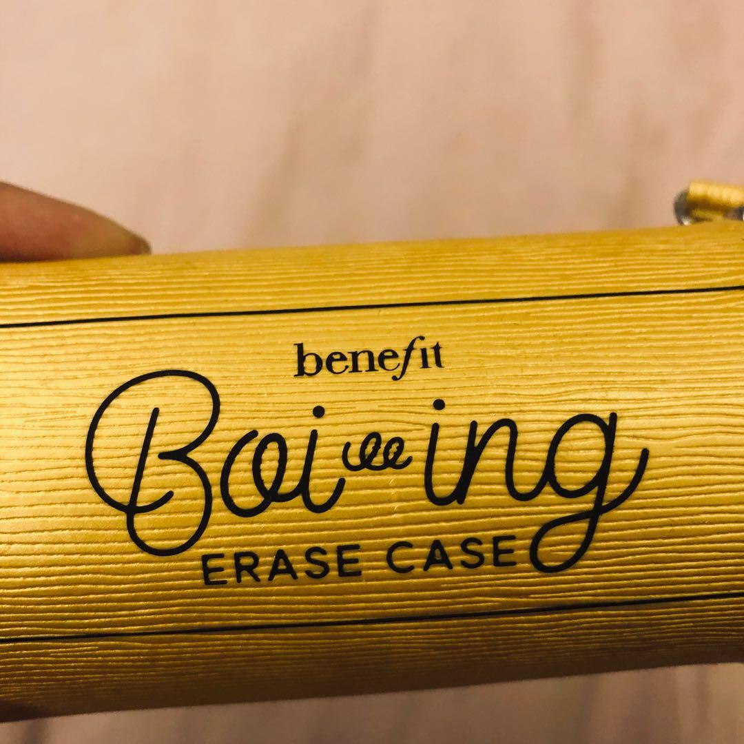 preloved BENEFIT boiing erase case (only the case)
