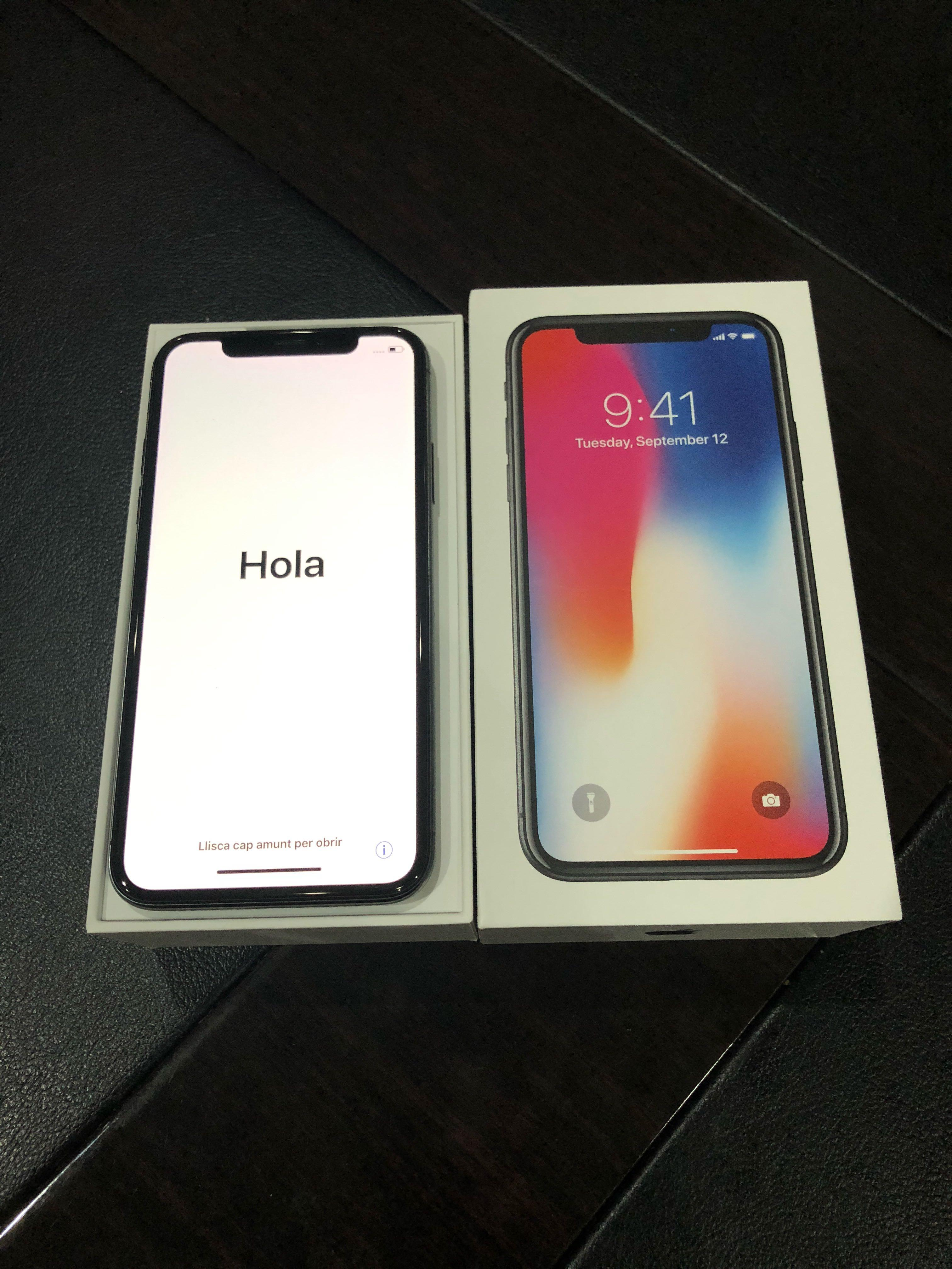 Preloved Iphone X FULL SET Repriced!