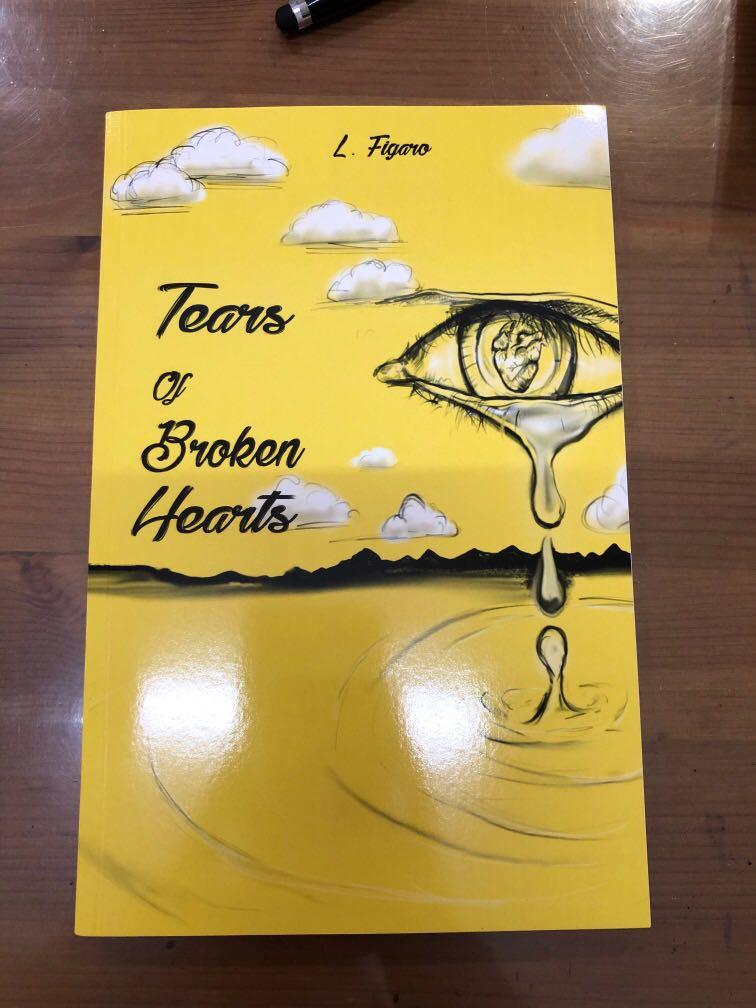 Pre-loved TEARS OF BROKEN HEARTS BY L.FIGARO