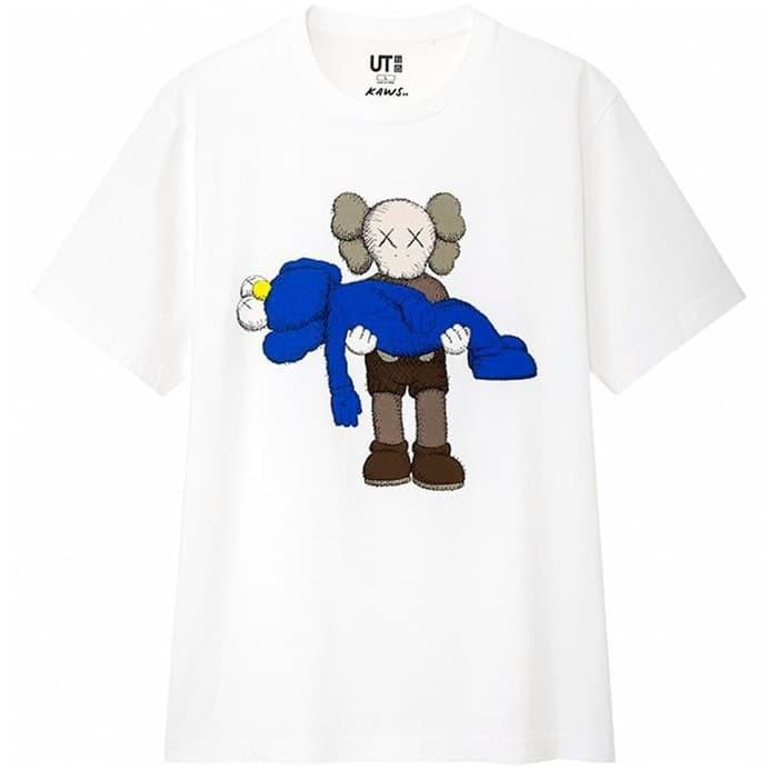 READY BROKU SISKU!😍 UNIQLO X KAWS T-SHIRT LIMITED SUMMER COLLECTION 2019 100% ORIGINAL🔥🔥🔥