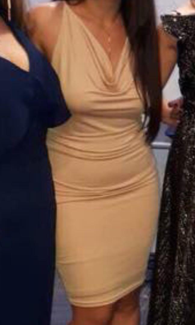 Size 8/10 Nude dress