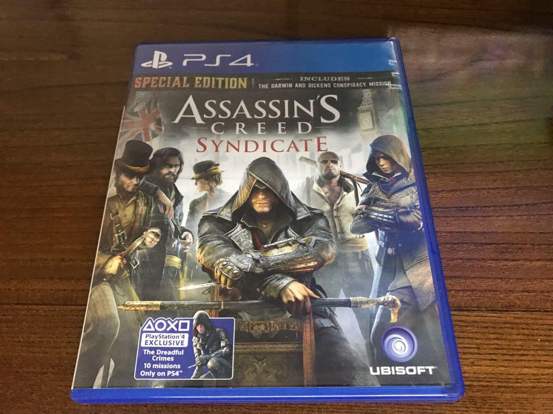 Sony playstation PS4 pro Assassin's Creed Syndicate