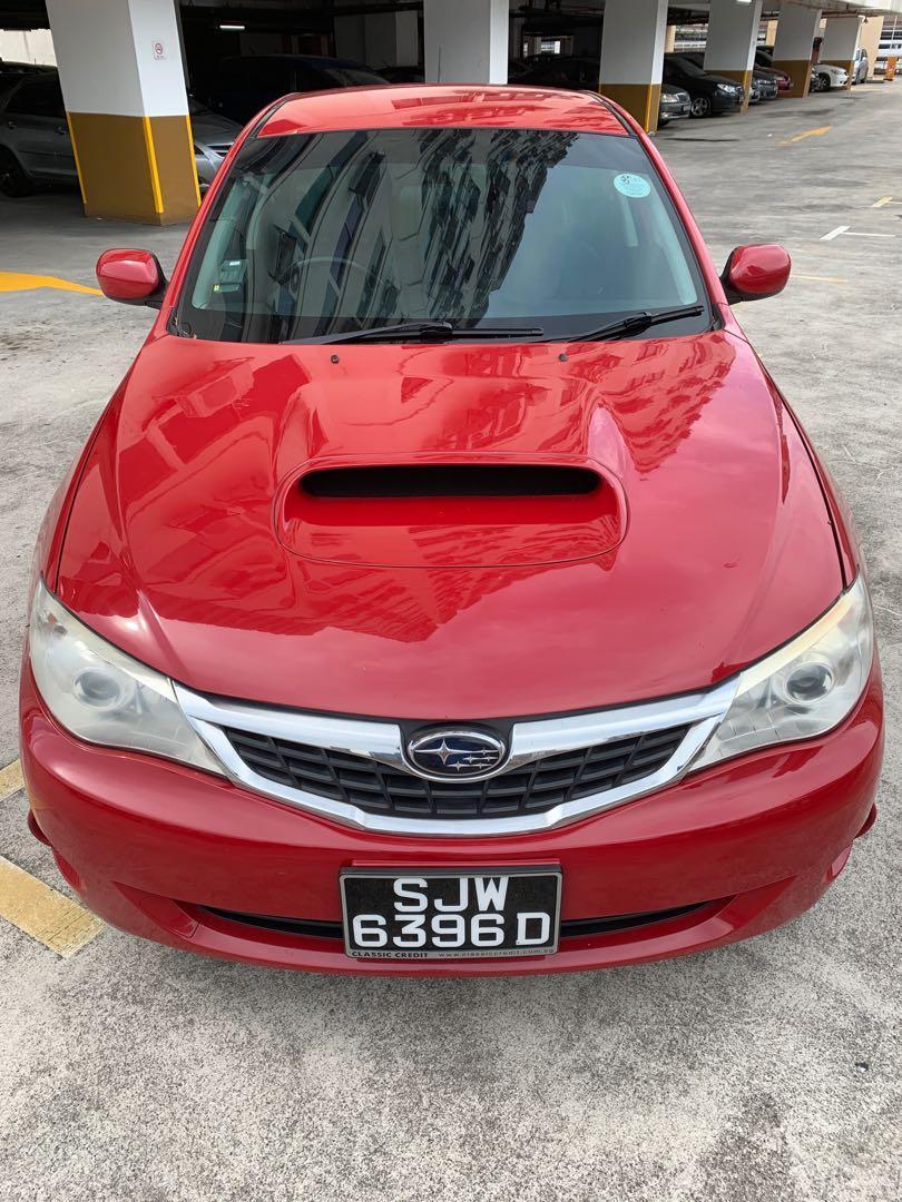 Subaru Impreza for rent