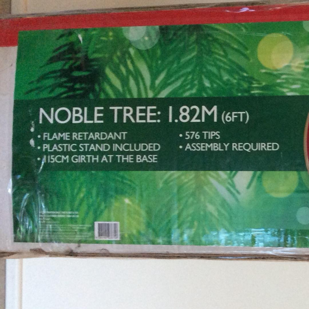 Synthetic Christmas Tree 6 ft