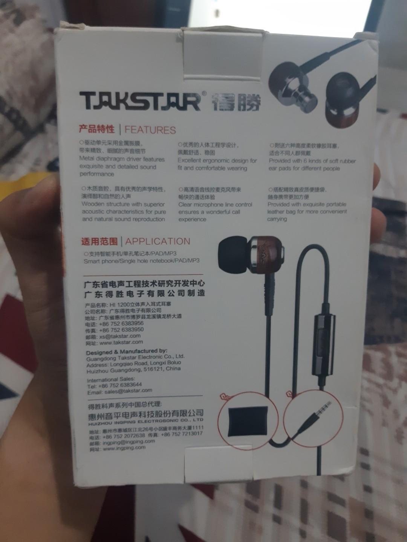 Takstar HI1200 Original IEM