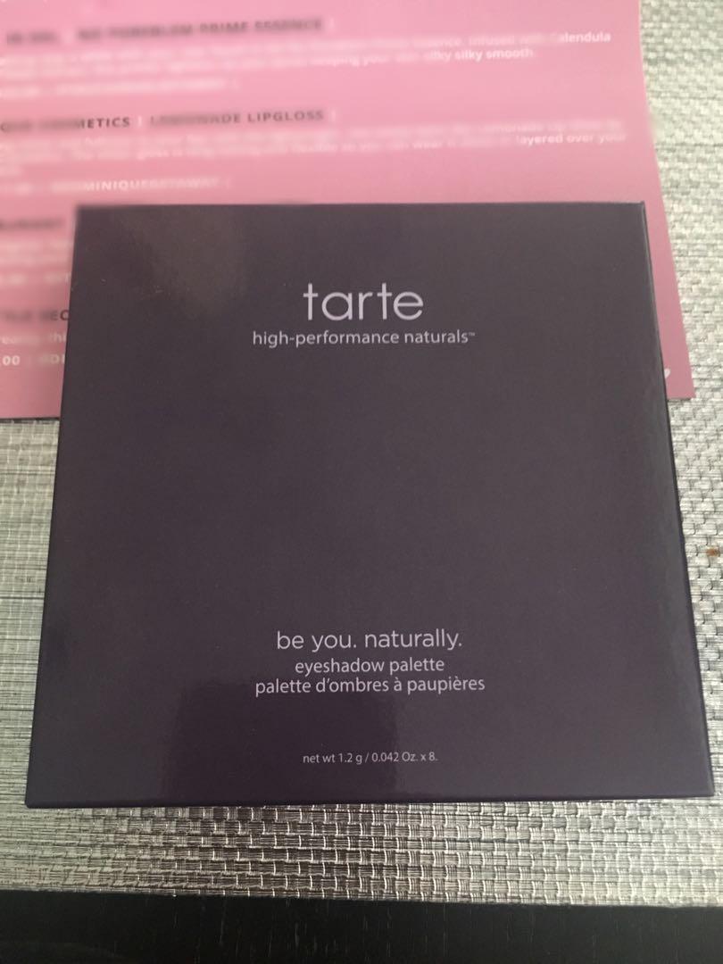 Tarte Eyeshadow and Dirty Little Secrets Lip liner