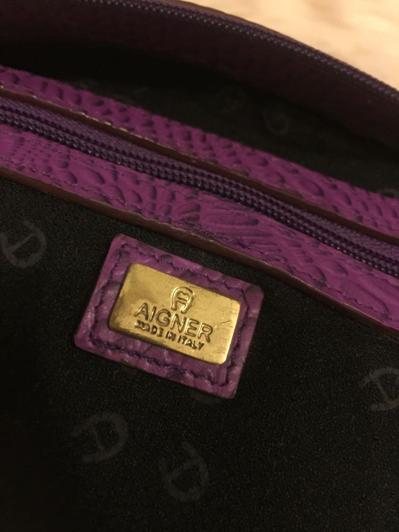 Tas etiene aigner original auth full leather cantik