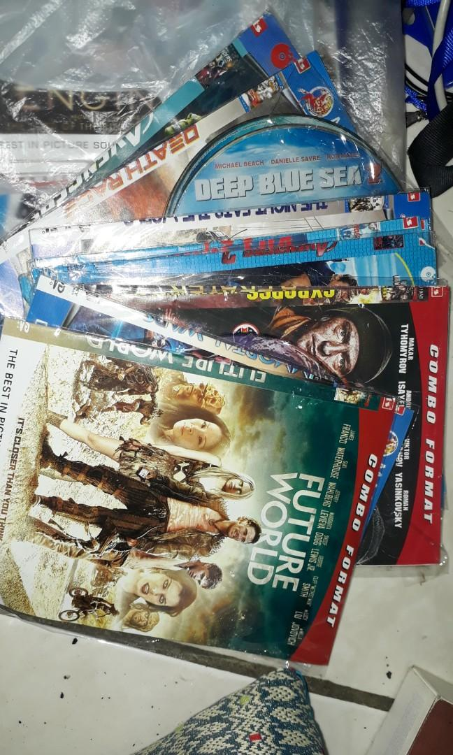 VCD aneka judul film.. Take All