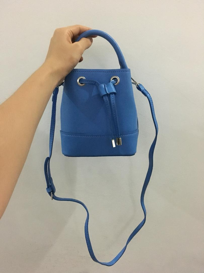 Zara Blue Bag