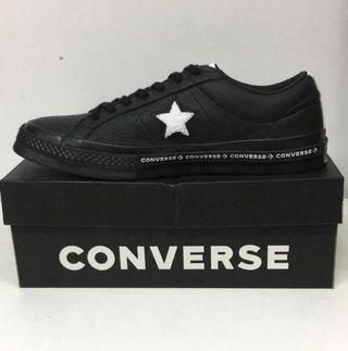 CONVERSE ONE STAR OX BLACK/WHITE/BLACK