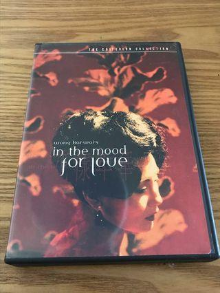 花樣年華The Criterion Collection DVD