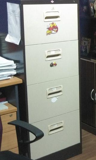 4 drawers metal safety cabinet