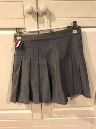 [代網拍成癮的友出售]灰色百褶裙