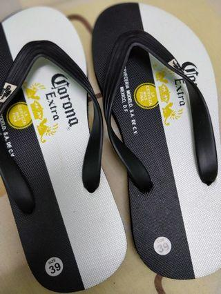 Corona Extra flip flops