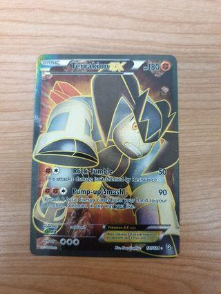 Terrakion Full Art EX