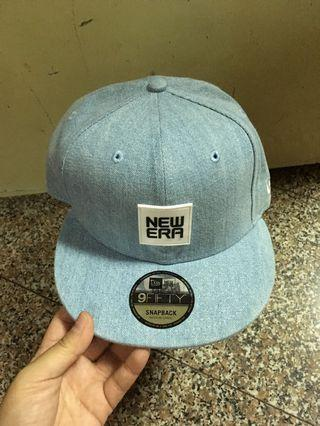New Era Snapback Cap (Denim)
