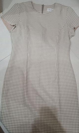 Dress Katun Kantoran