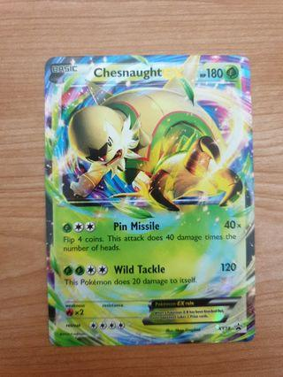 Chesnaught EX Promo