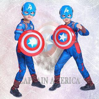 🚚 Preorder New Captain America costume set ( can be your Halloween costume 😊)
