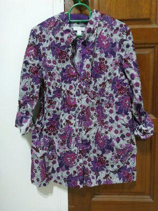Floral Blouse 4/S and 6/M