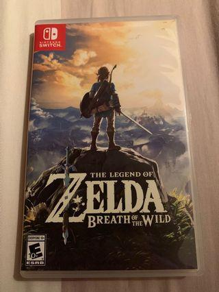 🚚 Zelda Breath Of The Wild (BOTW) for Nintendo Switch
