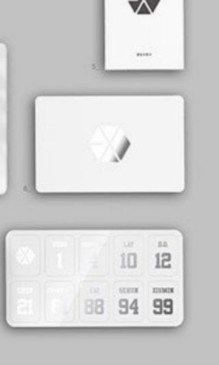 🚚 Lf EXO lightstick V2 sticker!
