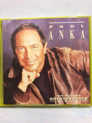 Paul Anka ~ Five Decades Greatest Hits