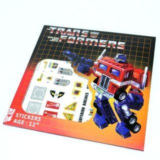 Superion Combiner Wars dry transfer decals