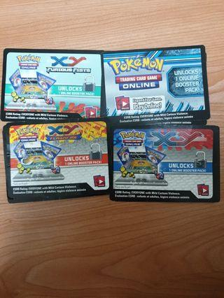 🚚 Pokemon Online Booster Pack