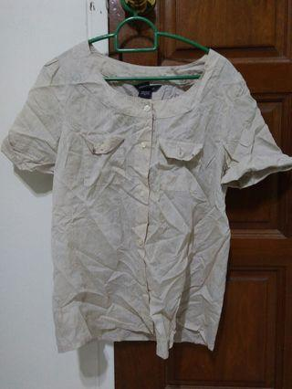 Light brown clear top M