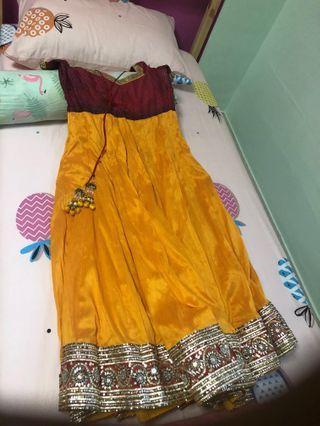 Indian Anarkali suit