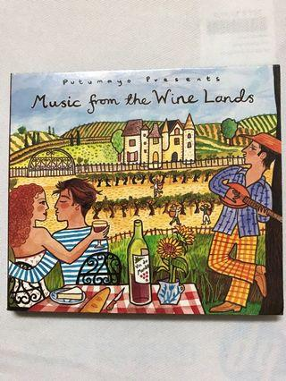 Putumayo ~ Music From The Wine Lands