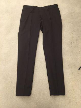 Zara trousers waist 33 long 38