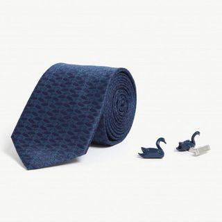 [代購] TED BAKER Swaning tie and cufflinks gift set